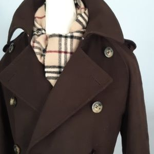 Burberry Buckingham Cashmere & Wool Trench!
